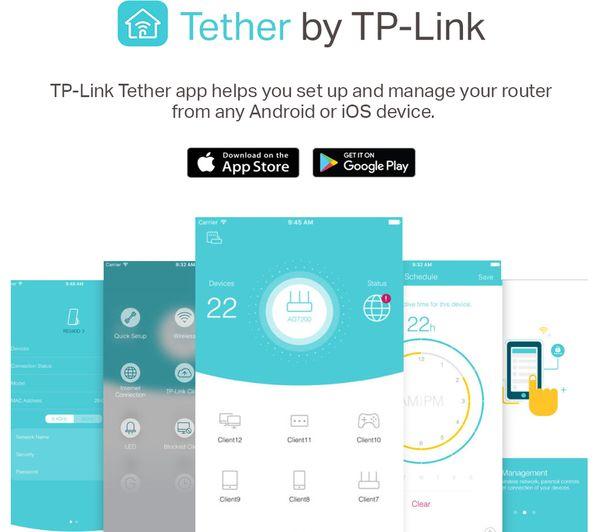 TP-LINK Archer C60 WiFi Cable & Fibre Router - AC 1350, Dual-band