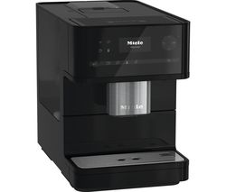 MIELE CM 6150 Bean to Cup Coffee Machine - Obsidian Black Best Price, Cheapest Prices