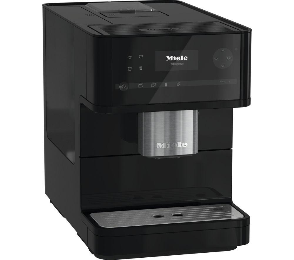 MIELE CM 6150 Bean to Cup Coffee Machine – Obsidian Black, Black
