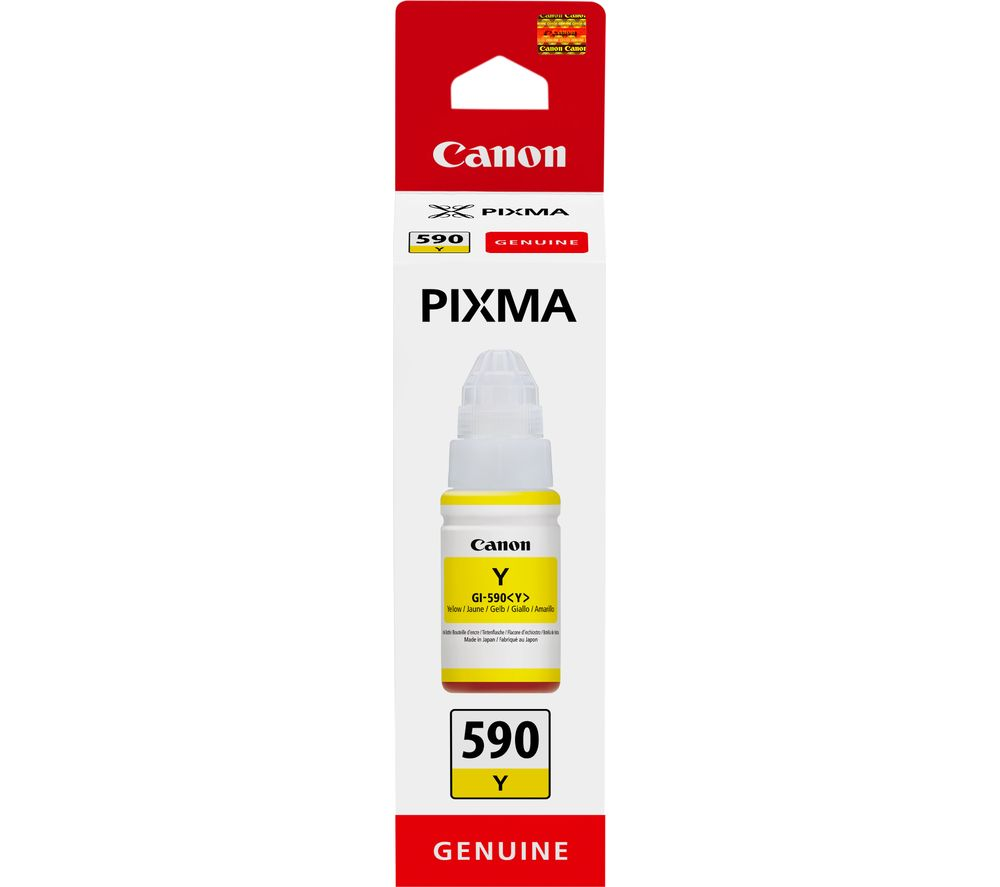 CANON GI-590Y Yellow Ink Bottle, Yellow Review thumbnail