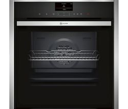 NEFF B47FS34N0B Slide and Hide Electric Steam Oven - Stainless Steel