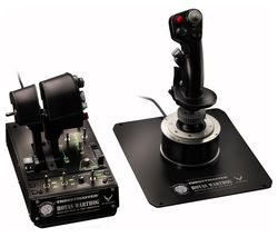 THRUSTMASTER Hotas Warthog Joystick & Throttle - Black