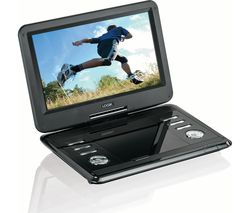 L12SPDVD17 Portable DVD Player - Black