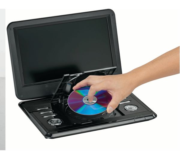 buy logik l12spdvd17 portable dvd player black free. Black Bedroom Furniture Sets. Home Design Ideas