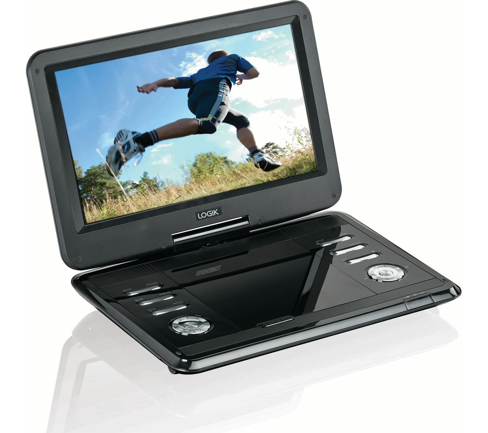 buy logik l12spdvd17 portable dvd player black free delivery currys. Black Bedroom Furniture Sets. Home Design Ideas
