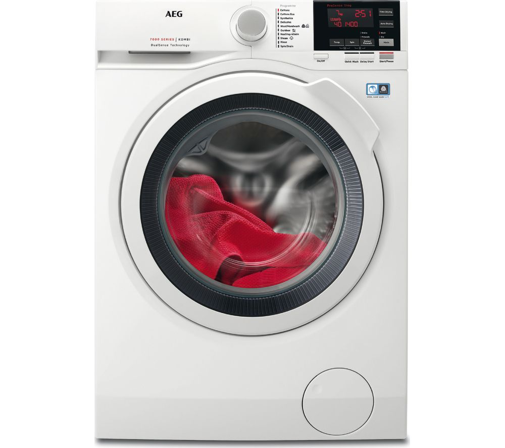 AEG L7WBG741R 7 kg Washer Dryer - White