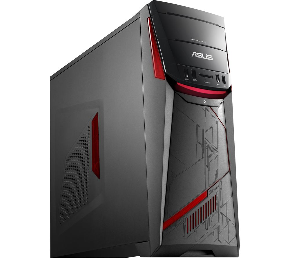 buy asus republic of gamers g11cd gaming pc free. Black Bedroom Furniture Sets. Home Design Ideas