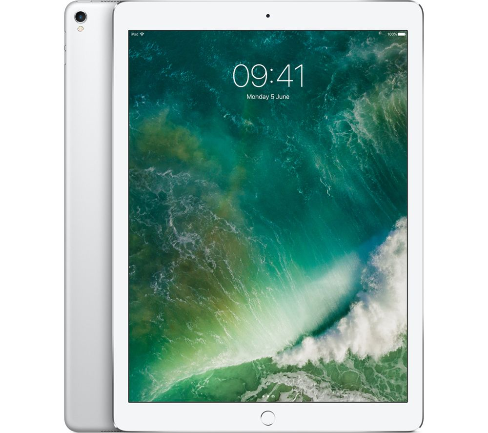 "APPLE 12.9"" iPad Pro - 512 GB, Silver (2017)"