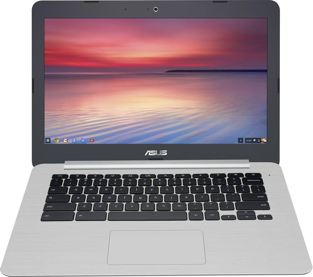 """Image of ASUS C301 13.3"""" Chromebook - Grey, Grey"""