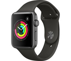 APPLE Watch Series 3 - Grey, 42 mm