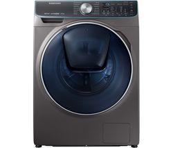 SAMSUNG QuickDrive + AddWash WW10M86DQOO Smart 10 kg 1600 Spin Washing Machine - Graphite