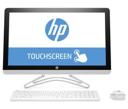 "HP 24-e085na 23.8"" All-in-One PC - White"