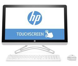 "HP 24-e085na 23.8"" All-in-One PC - White"