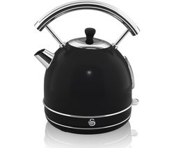 SWAN Retro SK34021BN Traditional Kettle - Black