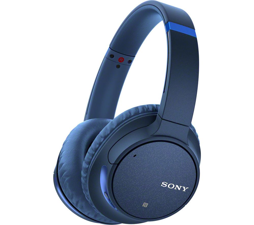 SONY WH-CH700N Wireless Bluetooth Noise-Cancelling Headphones - Blue