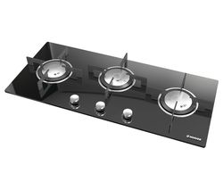 HOOVER Vogue HGV93SXV B Gas Hob - Black