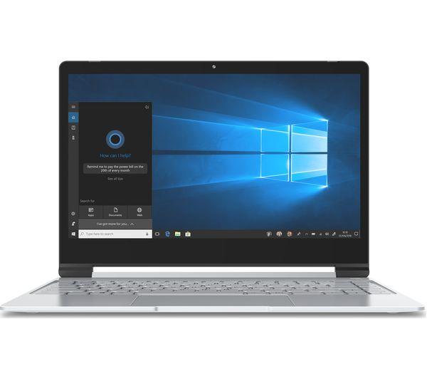 "Image of GEO Book3 13.3"" Intel® Celeron® Laptop - 32 GB eMMC, Silver"