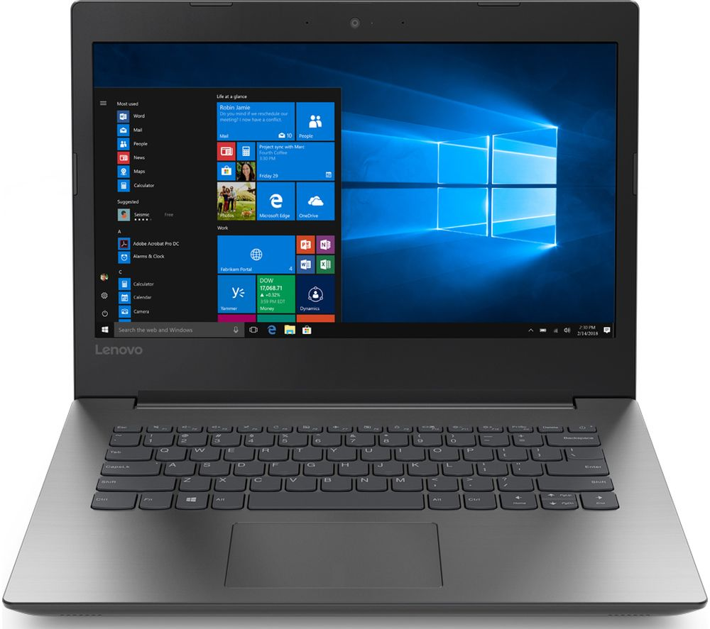 "LENOVO IdeaPad 330-14IGM 14"" Intel® Celeron® Laptop - 1 TB HDD, Black"