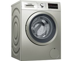 BOSCH Serie 6 WAT2840SGB 9 kg 1400 Spin Washing Machine - Inox