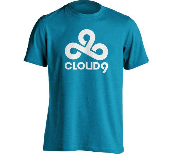 ESL Cloud9 T-Shirt - XL, Blue