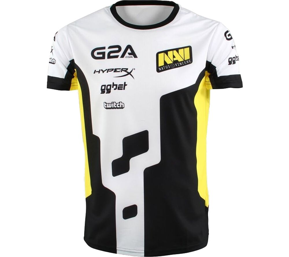 ESL Na'Vi Player 2018 Jersey - Medium, White