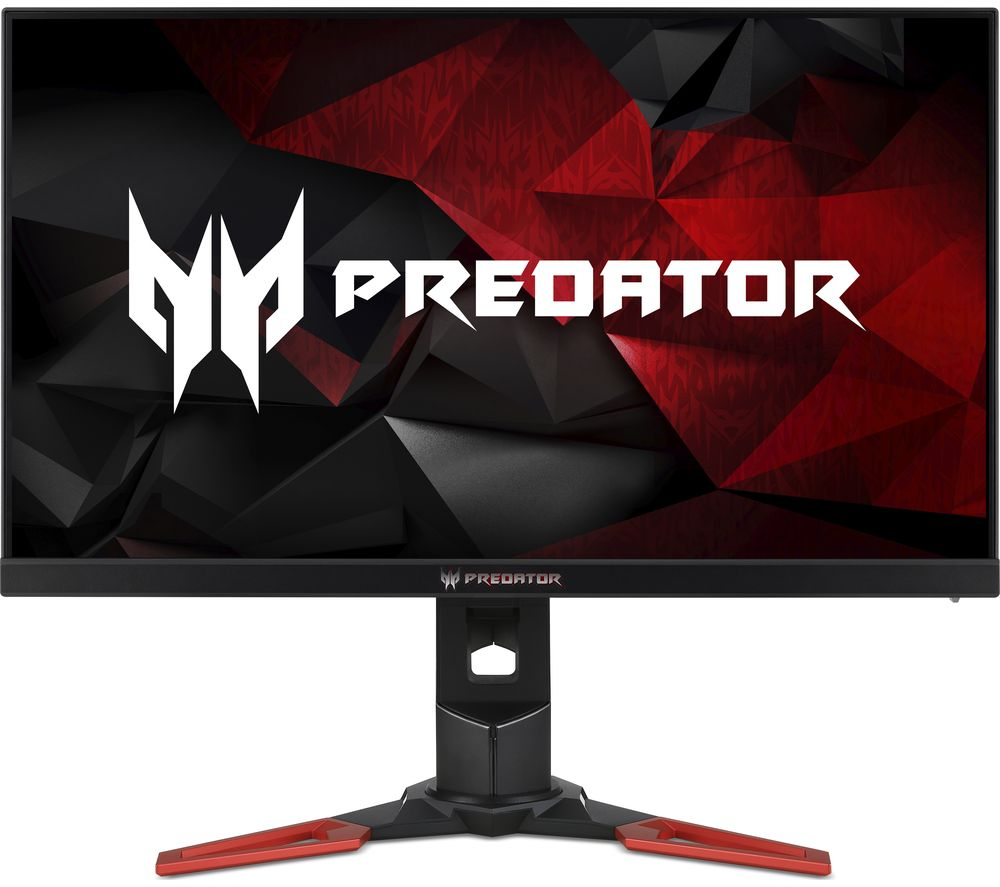 "ACER Predator XB271HUA Quad HD 27"" TN LCD Gaming Monitor - Black & Red"