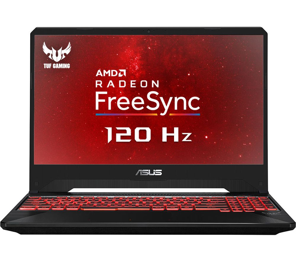 "ASUS FX505DY 15.6"" AMD Ryzen 5 RX 560X Gaming Laptop - 1 TB HDD & 256 GB SSD"