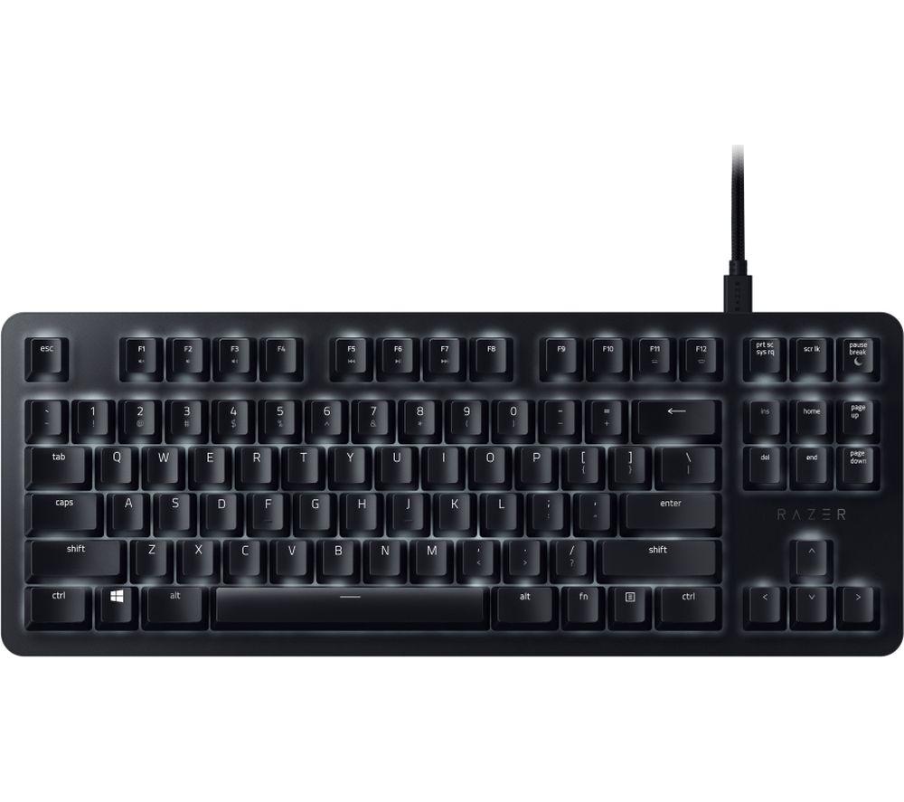 Image of BlackWidow Lite Mechanical Gaming Keyboard, White