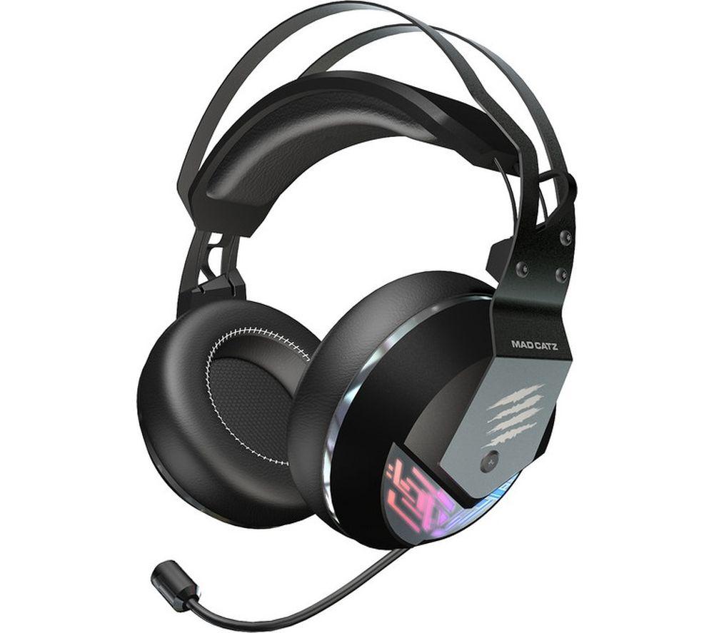 Image of MAD CATZ F.R.E.Q. 4 Gaming Headset - Black, Black