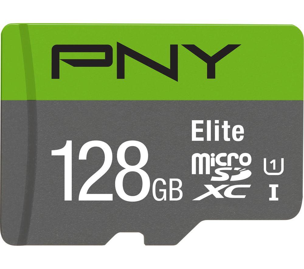 PNY Elite Class 10 microSDXC Memory Card - 128 GB