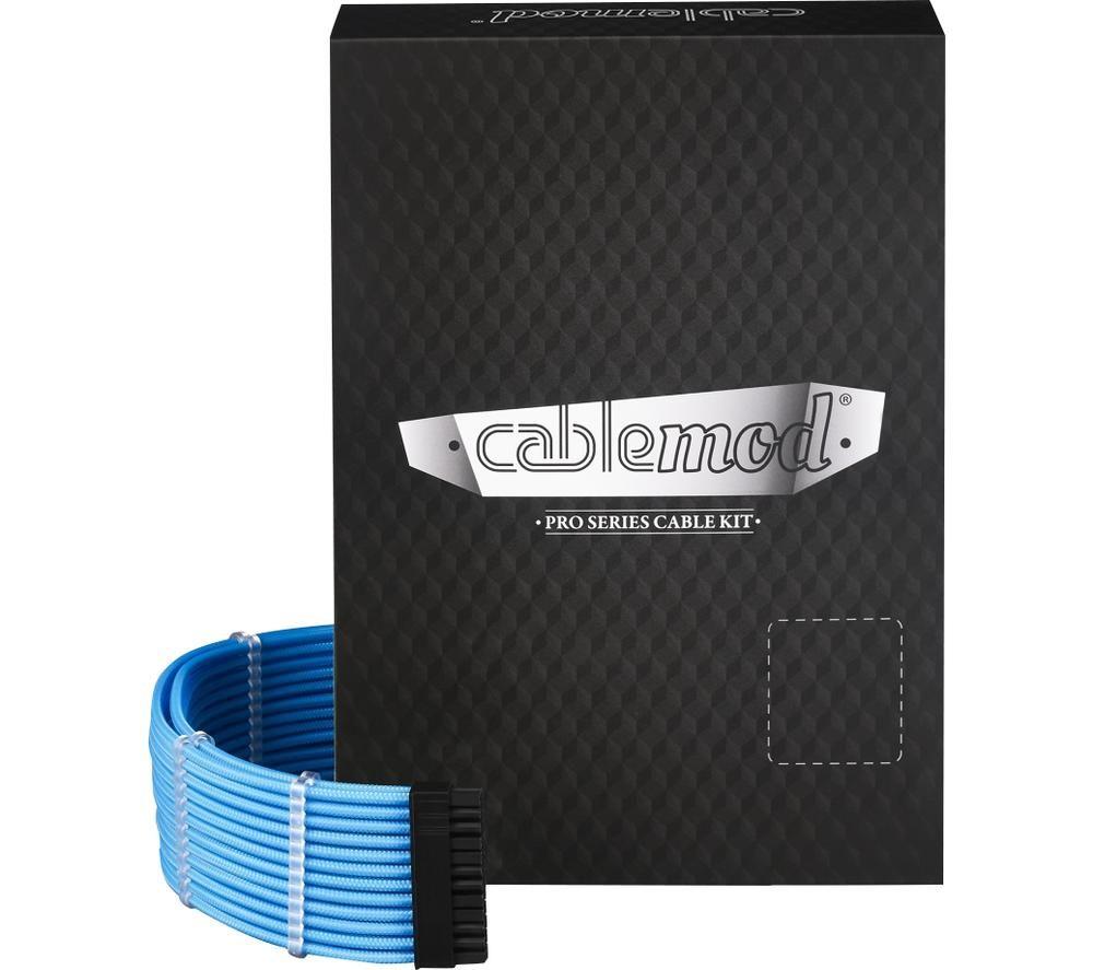 CABLEMOD ModMesh C-Series Corsair AXi HXi RM Cable Kit - Light Blue, Blue