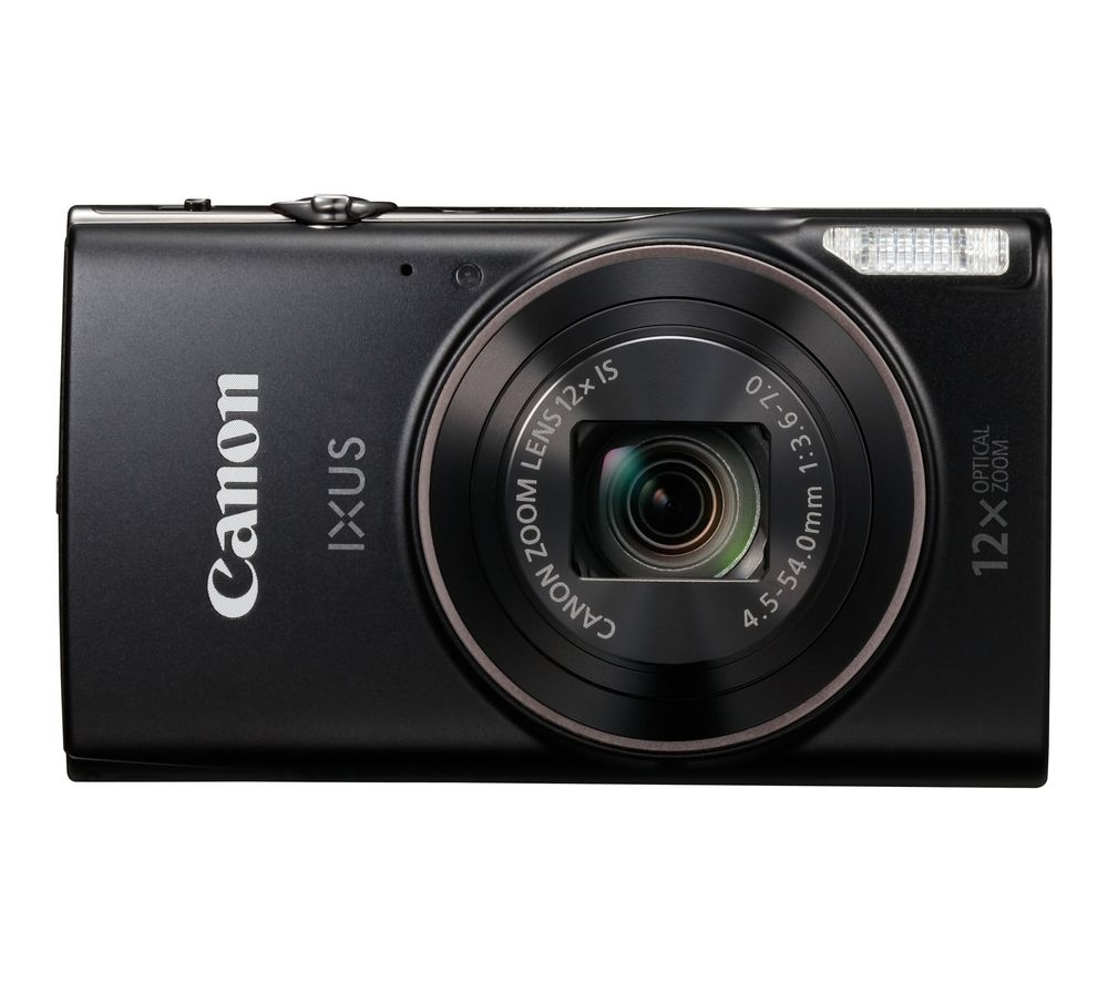 Click to view product details and reviews for Canon Ixus 285 Hs Compact Camera With 32 Gb Sd Card Case Black Black.