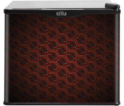 KUHLA KCLRF17-2006 Mini Fridge - Retro Pattern