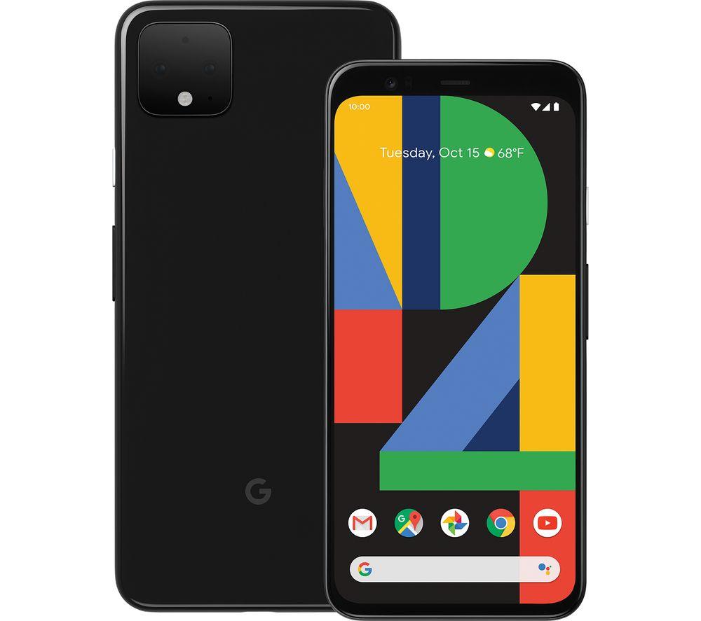 GOOGLE Pixel 4 XL - 64 GB, Just Black, Black