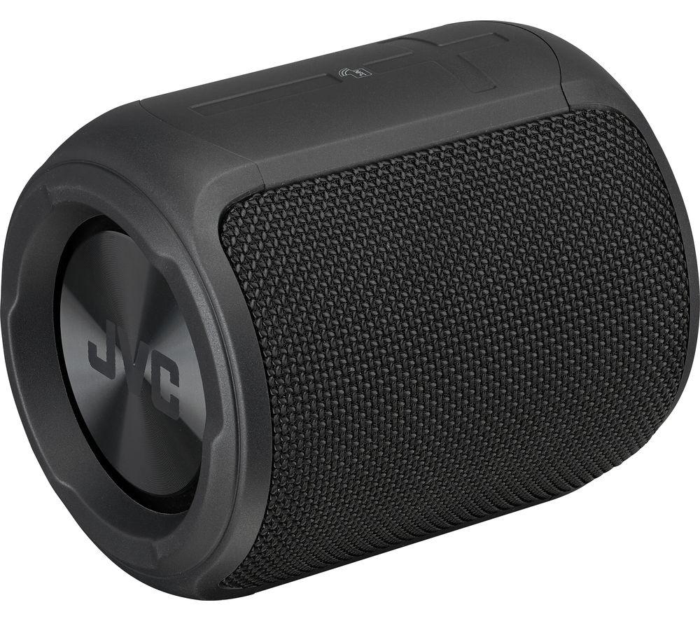 JVC SP-AD105-B SPX1 Portable Bluetooth Speaker - Black, Black