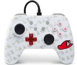 Nintendo Switch Wired Controller - Super Mario Cappy