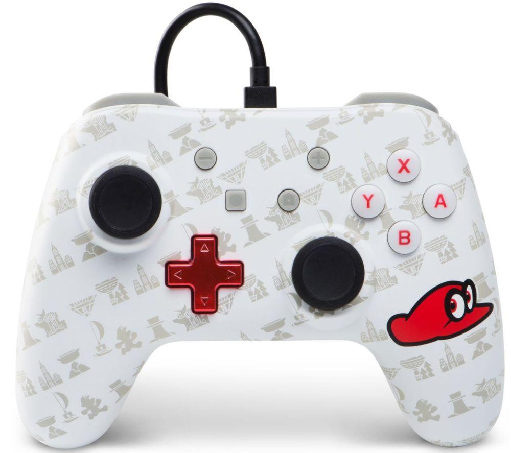 POWERA Nintendo Switch Wired Controller - Super Mario Cappy