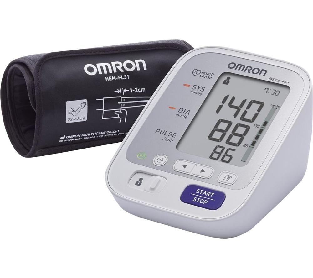 Image of OMRON M3 Comfort HEM-7134-E Upper Arm Blood Pressure Monitor