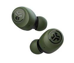 GO Air Wireless Bluetooth Earbuds - Green & Black