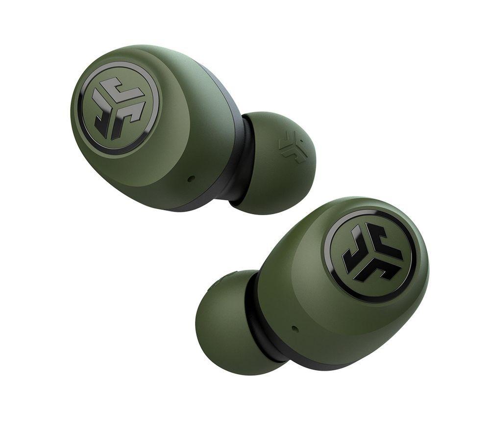 JLAB AUDIO GO Air Wireless Bluetooth Earbuds - Green & Black