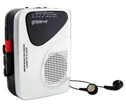 Retro GV-PS525 Personal Cassette Player & Recorder - Silver
