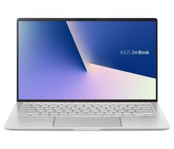 "ASUS ZenBook 14 UM433 14"" Laptop - AMD Ryzen 5, 256 GB SSD, Silver"