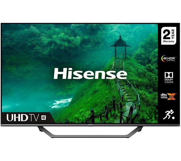 """Image of HISENSE 43AE7400FTUK 43"""" Smart 4K Ultra HD HDR LED TV"""