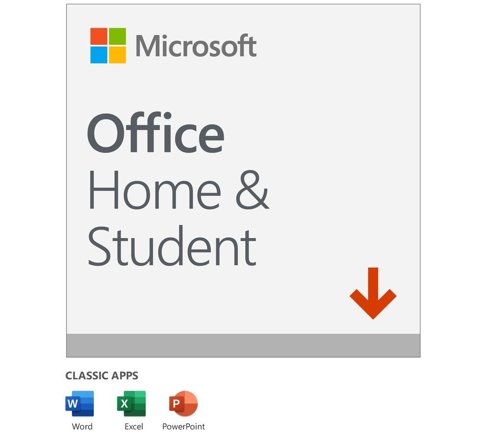 Image of MICROSOFT Office Home & Student - Lifetime for 1 user (download)