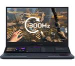 £2999, ASUS ROG Zephrys Duo G15 15.6inch Gaming Laptop - Intel® Core™ i7, RTX 2070 Super, 1 TB SSD, Intel® Core™ i7-10875H Processor, RAM: 32GB / Storage: 1 TB SSD, Graphics: 	NVIDIA GeForce RTX 2070 Super MaxQ 8GB, Full HD screen / 300 Hz, Battery life:Up to 4 hours,