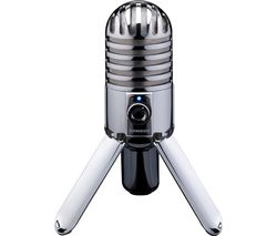 Meteor Mic USB Microphone - Chrome