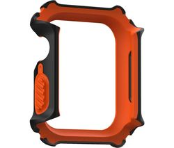 Gear Apple Watch 44 mm Case - Black & Orange