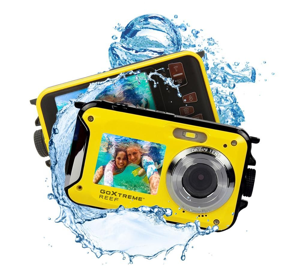 GOXTREME Reef 20150 Tough Compact Camera - Yellow, Yellow