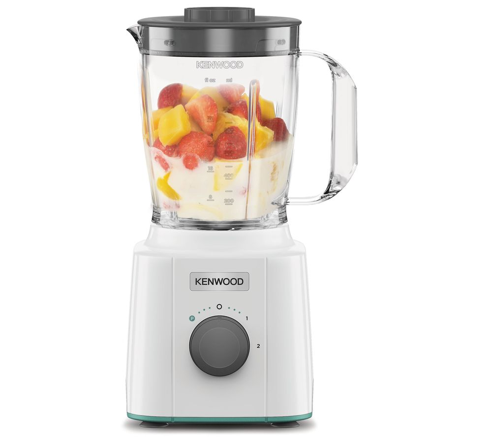 KENWOOD Blend-X Compact Blender - Cream & Teal, Cream
