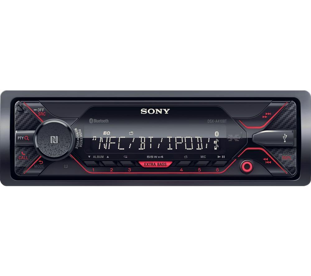 Image of SONY DSX-A210UI FM Car Radio - Black, Black